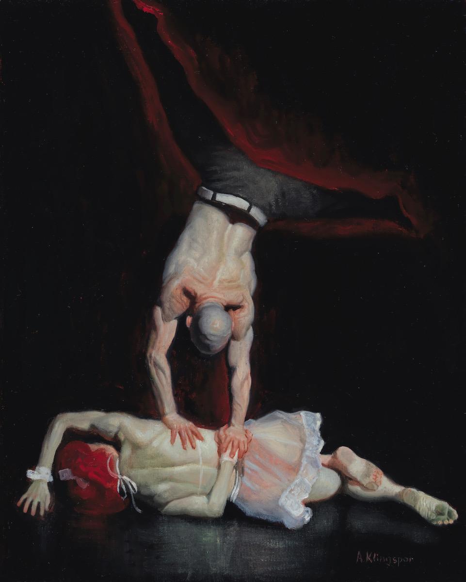 Painting by Alexander Klingspor
